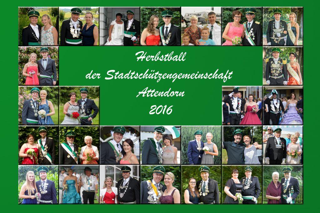 Majestätempaare 2016 aus Attendorn