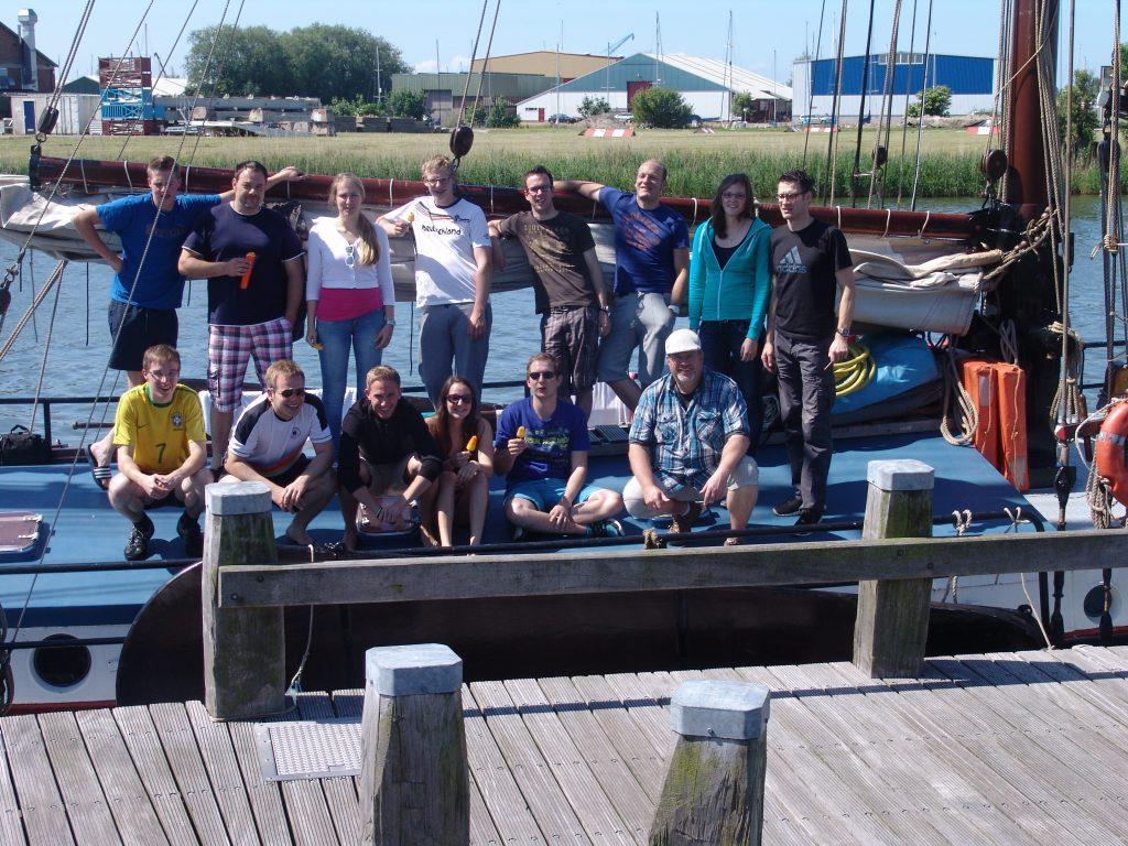 Segeltörn 2014 auf dem Ijsselmeer